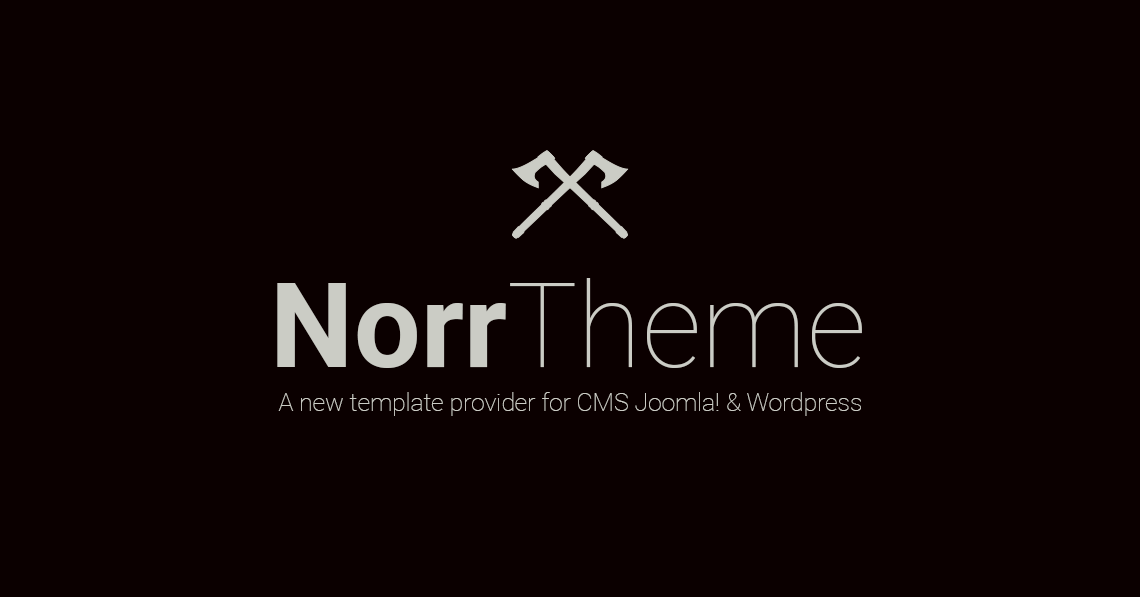 Opening of the NorrTheme - template provider affiliated to NorrBits ...