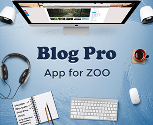Blog Pro App for ZOO