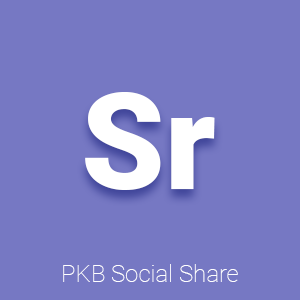 PKB Social Share - Pagekit plugin