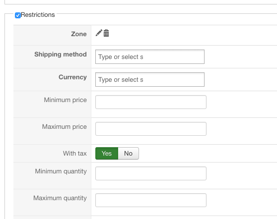2Checkout Inline payment plugin for Hikashop - options