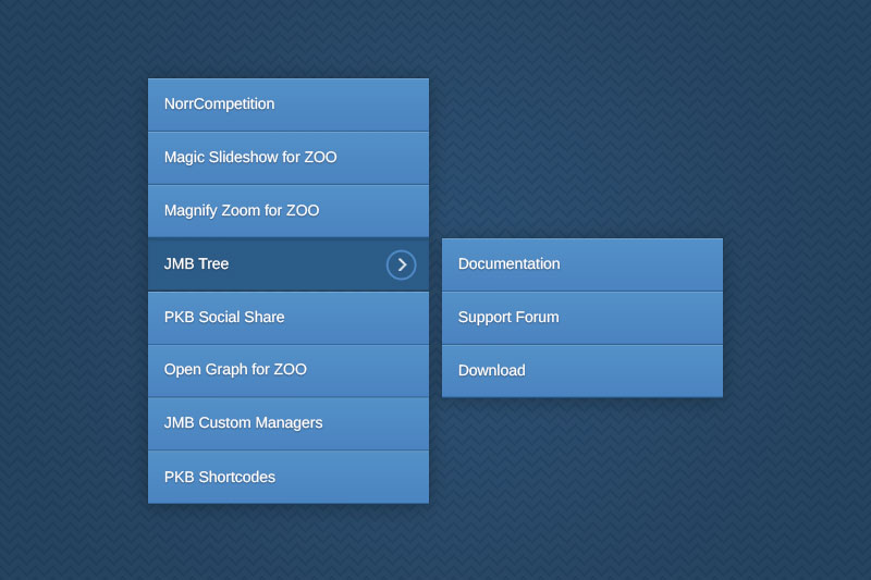 JMB Tree - best menu module for Joomla