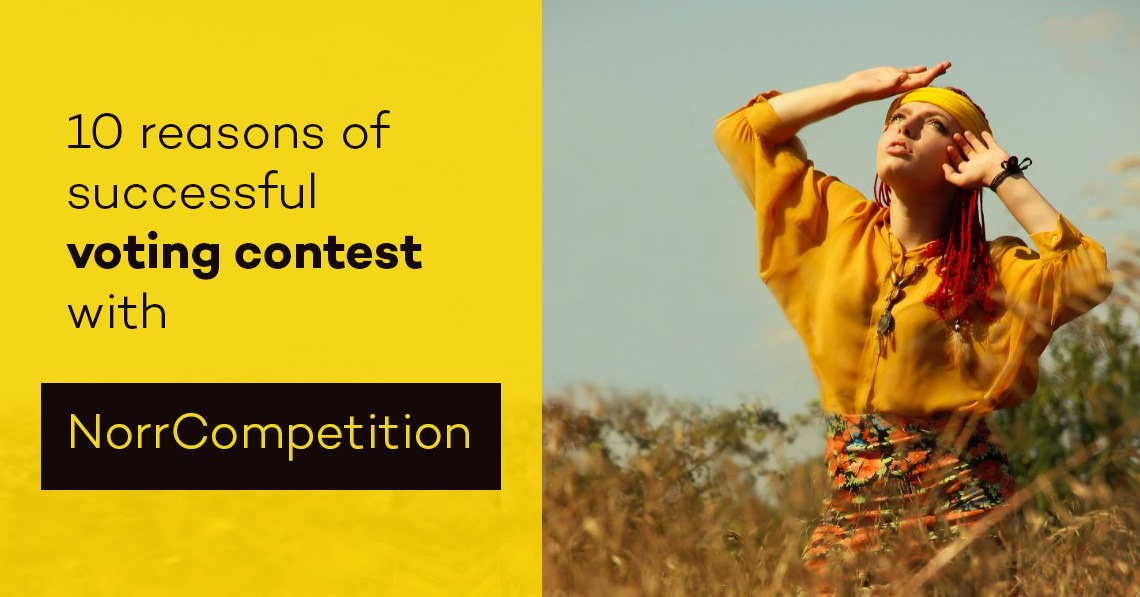 10 reasons of successful voting contest with NorrCompetition