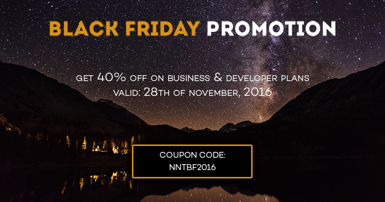 Black Friday great sale: get 40% off & discounts from partners