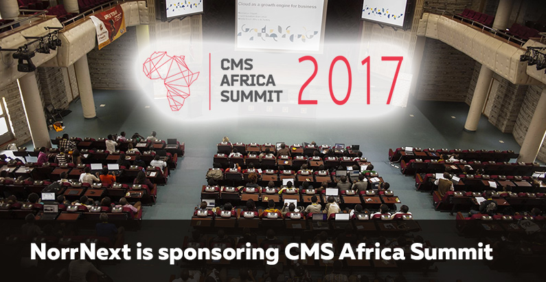 NorrNext is a giveaway sponsor of CMS Africa Summit