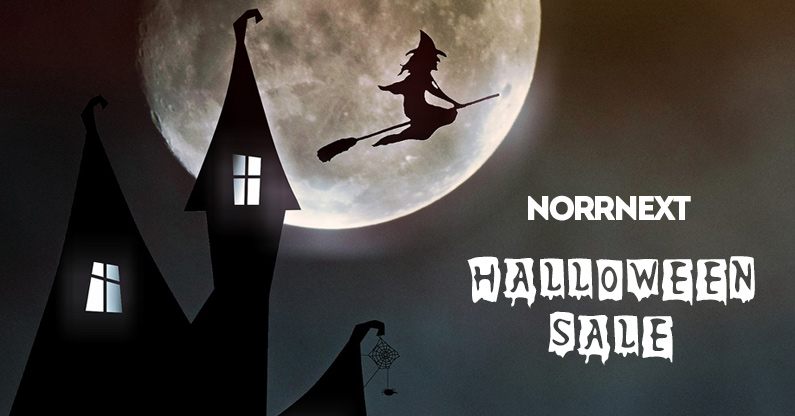 Sale! 25% Halloween discount on all NorrNext extensions!