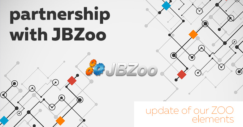 Partnership with JBZoo. Update of our ZOO elements