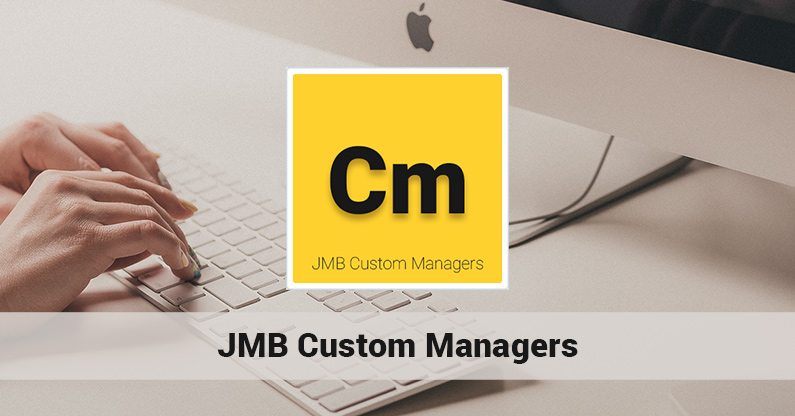 The release of JMB Custom Managers 1.1.2