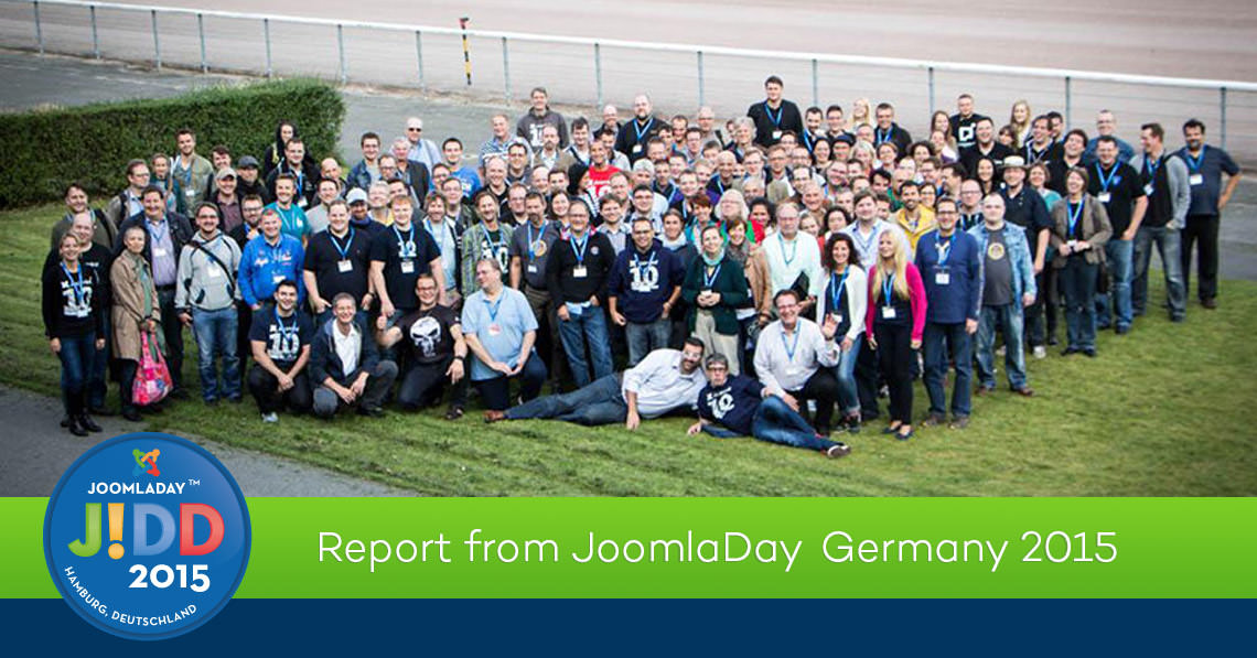 Report from JoomlaDay Germany 2015 - Hamburg