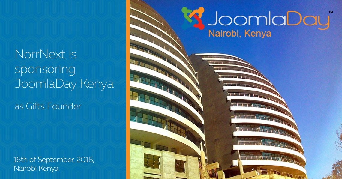 NorrNext is sponsoring JoomlaDay Kenya 2016 as Gifts Founder