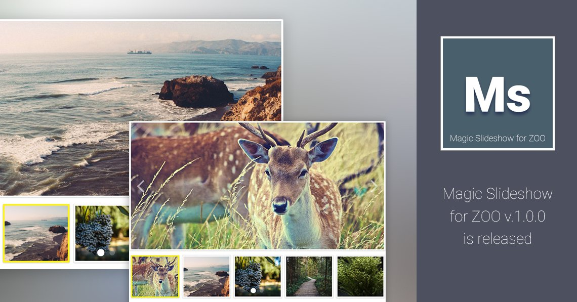 Magic Slideshow for ZOO 1.0.0 is released