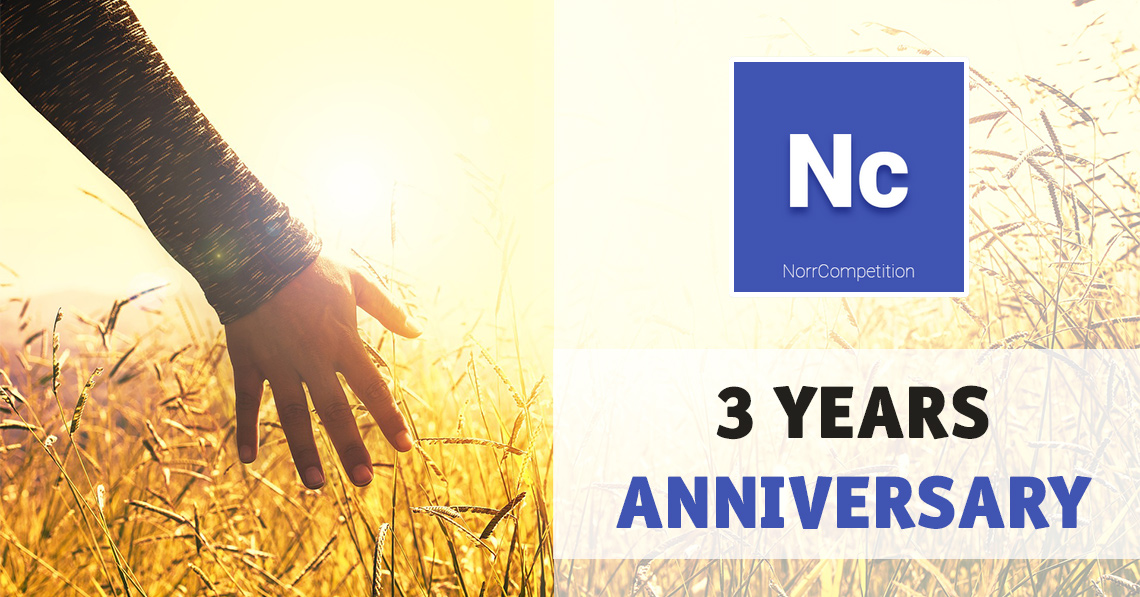 NorrCompetition 3 Years Anniversary