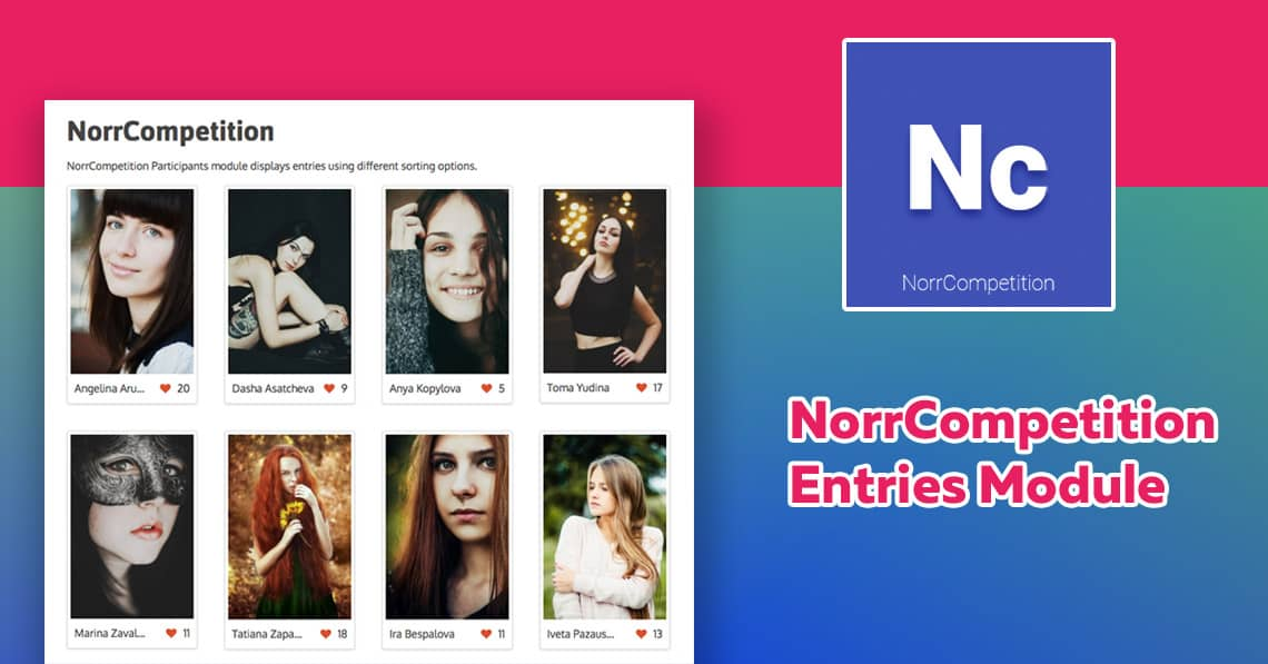 NorrCompetition Entries Module released