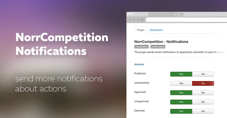 The release of NorrCompetition Notifications plugin