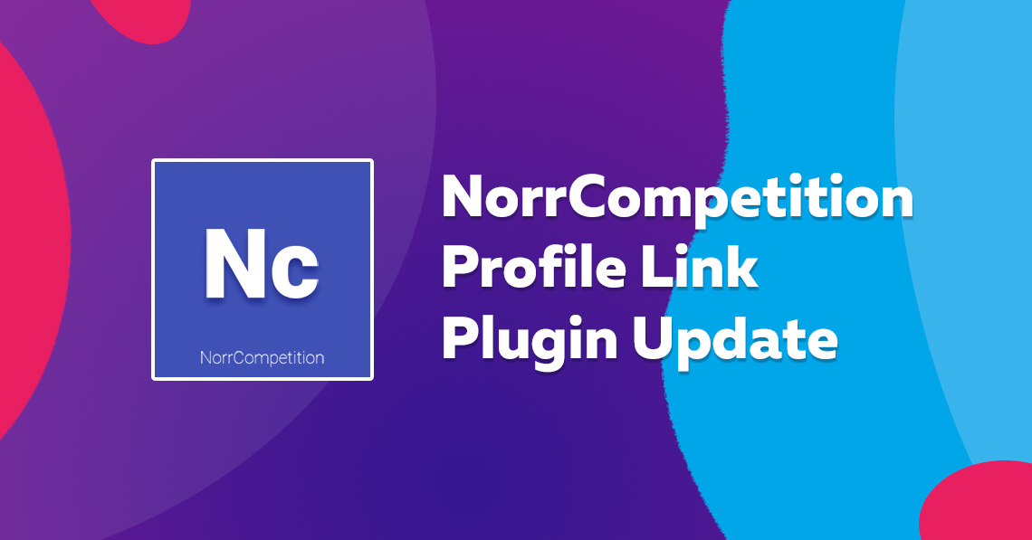 NorrCompetition Profile Link Plugin 1.1.0 released
