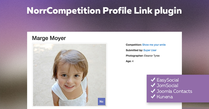 NorrCompetition Profile Link plugin released