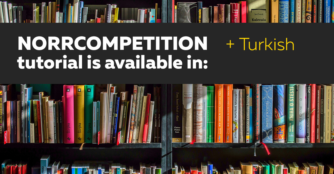 NorrCompetition Tutorial is Available in Turkish