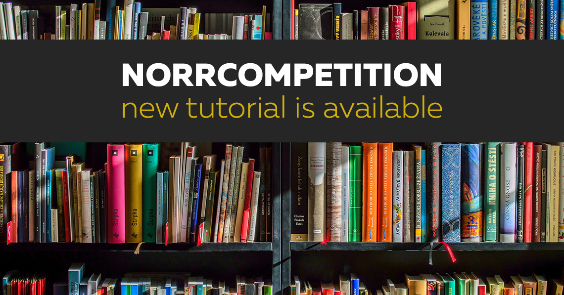 NorrCompetition Tutorial 'To Get Started' in Spanish