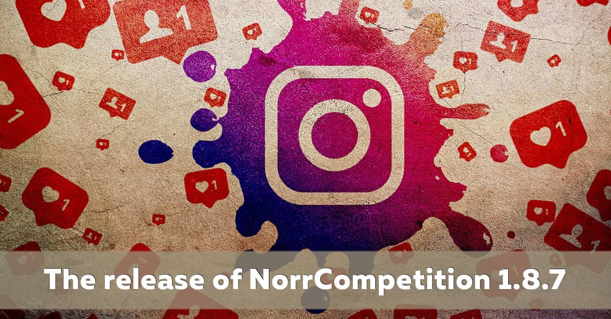 NorrCompetition 1.8.7 released