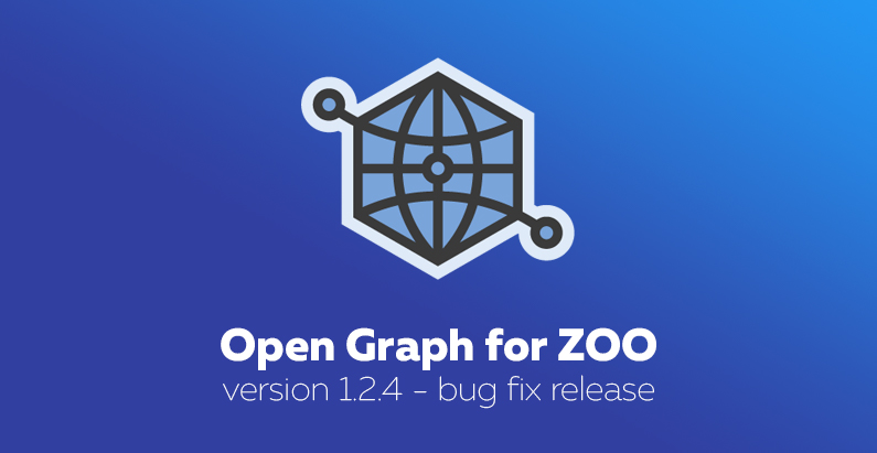 Open Graph for ZOO 1.2.4: bug fix release