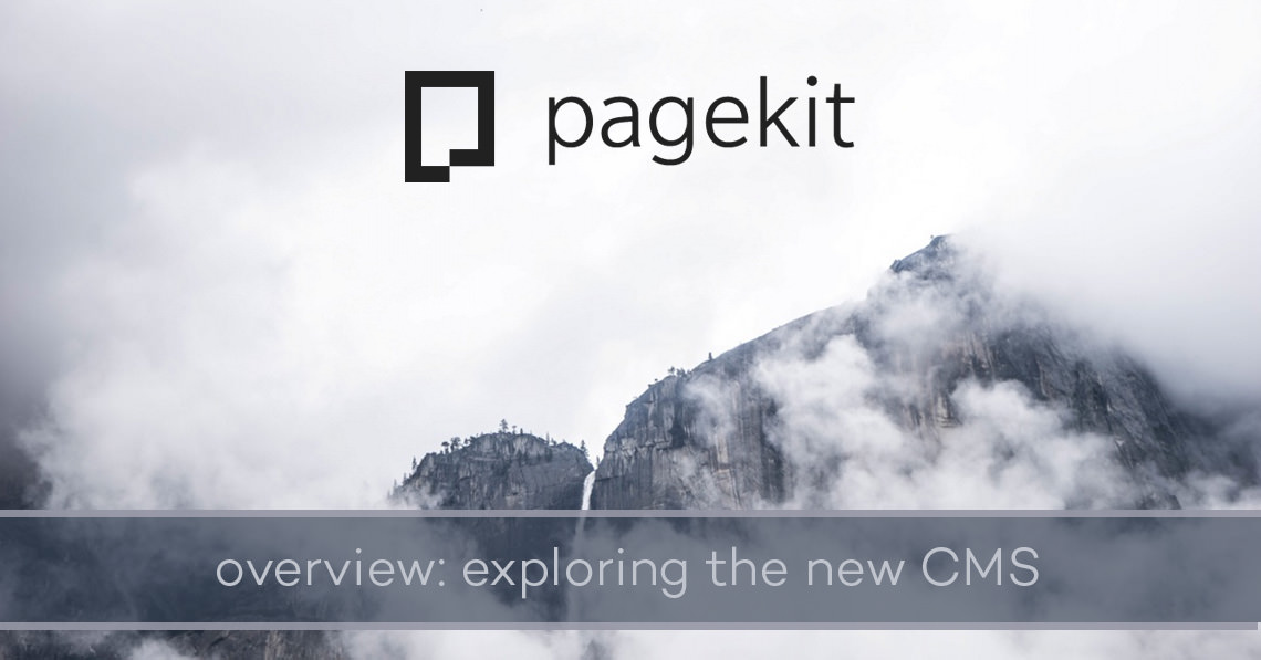 Pagekit overview: exploring the new CMS