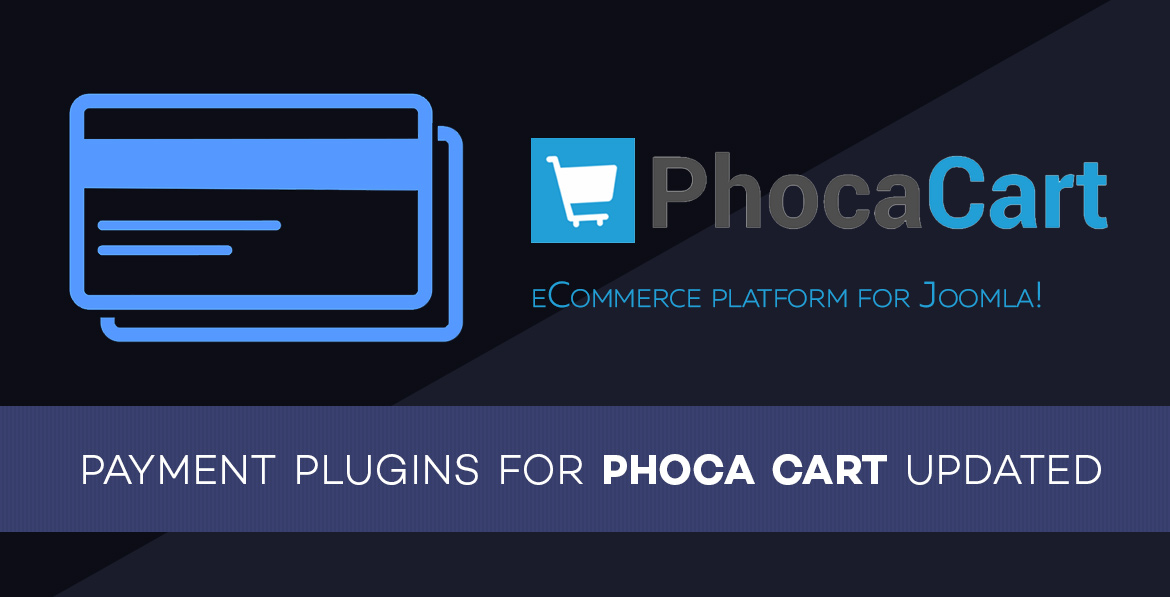 Payment Plugins for Phoca Cart updated