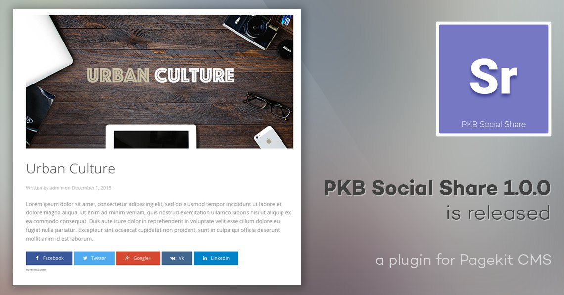PKB Social Share 1.0.0 is released