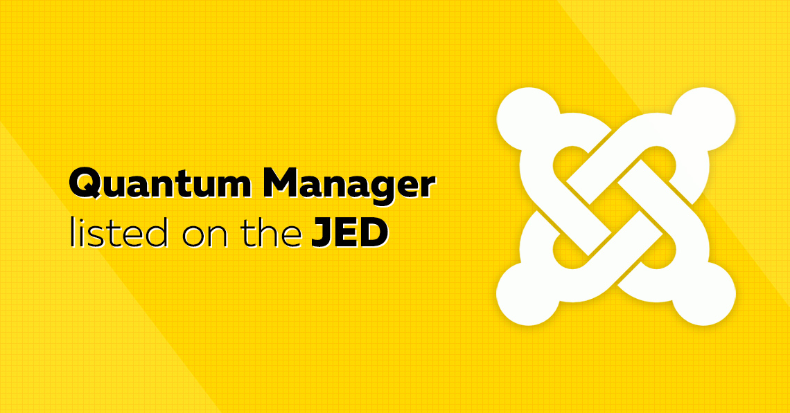 Quantum Manager listed on the JED