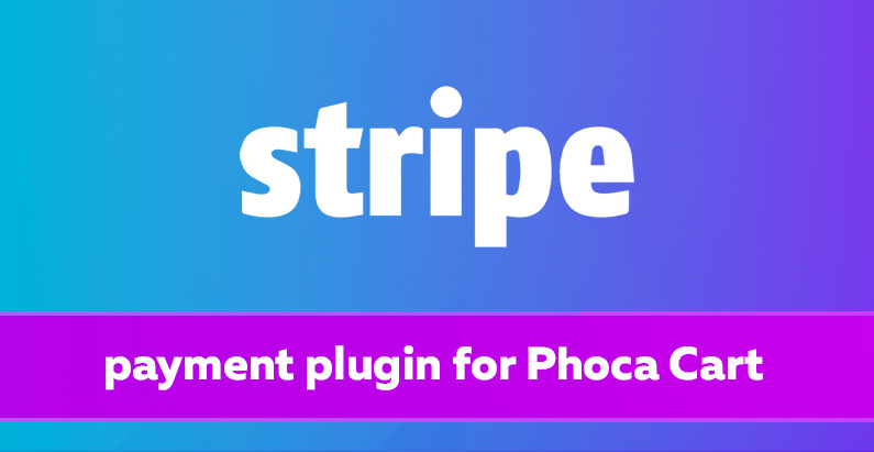 Stripe Plugin for Phoca Cart to comply with new API
