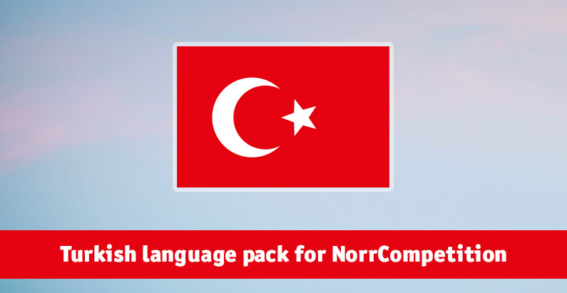 Turkish language pack for NorrCompetition updated