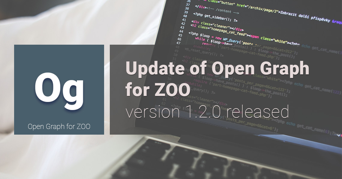 Update of Open Graph for ZOO: version 1.2.0 released
